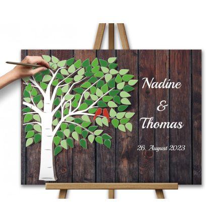 Hochzeitsbaum, Wedding tree, Grün - Hochzeitsbaum