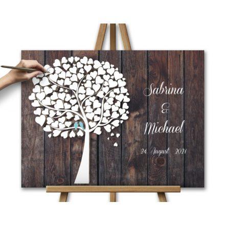 Hochzeitsbaum, Wedding tree, Gästebuch Hochzeitsgeschenk