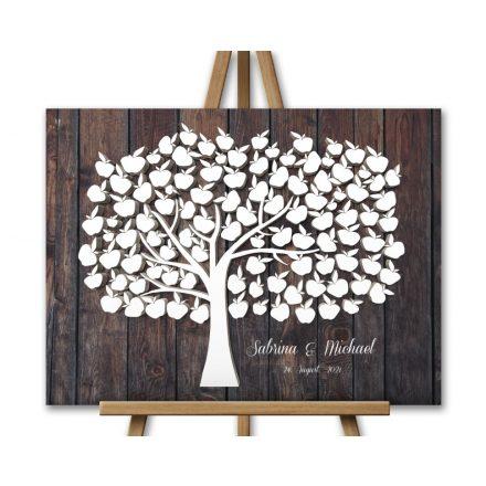 3D-Effekt Hochzeitsbaum, Wedding tree, Apfelbaum
