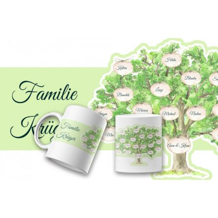 Stammbaum Familienstammbaum Tasse