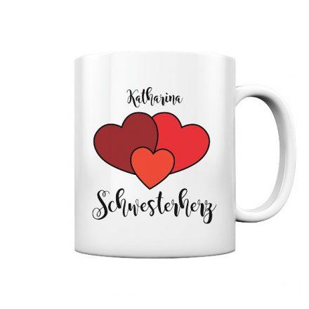 Schwesterherz, Geschenk - personalisiert