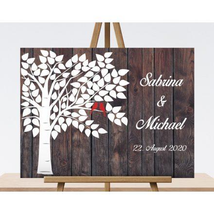 Hochzeitsbaum, Wedding tree, Hochzeitsgeschenk